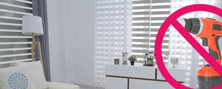 no drill blinds for upvc windows